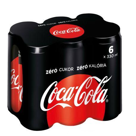 Coca-Cola zero multipack 6x330ml