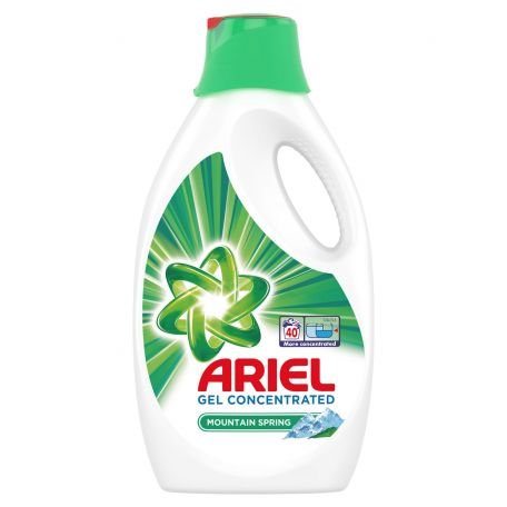 Ariel mountain spring folyékony mosószer 40mosás 2,2l