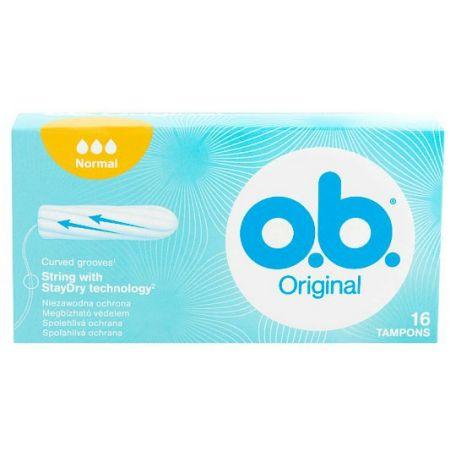 O.B. normál tampon 16db