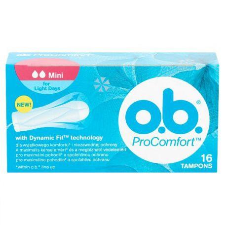 O.B. Pro Comfort mini tampon 16db