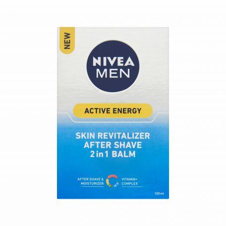 Nivea 2in1 Active Energy borotválkozás utáni balzsam férfiaknak 100ml