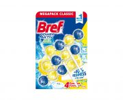 Bref power active juicy lemon wc illatosító 3x50g
