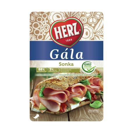 Herz Gála sertés sonka szeletelt 90% 90g