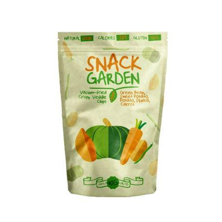 Snack Garden zöldbab sárgarépa édesburgonya chips 40g