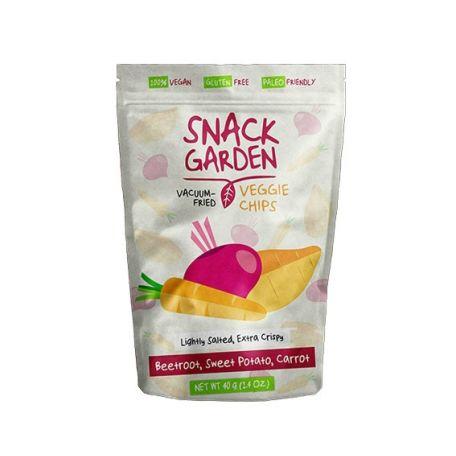 Snack Garden cékla sárgarépa édesburgonya chips 40g