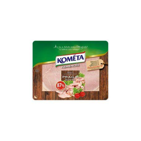 Kométa füstölt-főtt sertés prágai sonka szeletelt 87% 100g