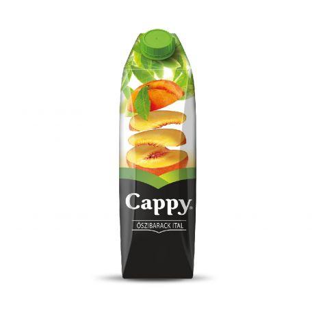 Cappy őszibarack üdítőital 25% 1l