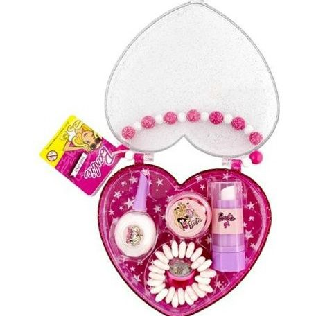 Barbie make up kit smink készlet 10db