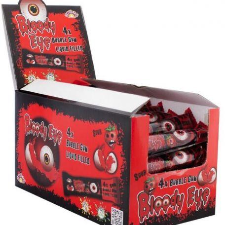 Bloody eye bubble gum rágógumi 48db 4x5g