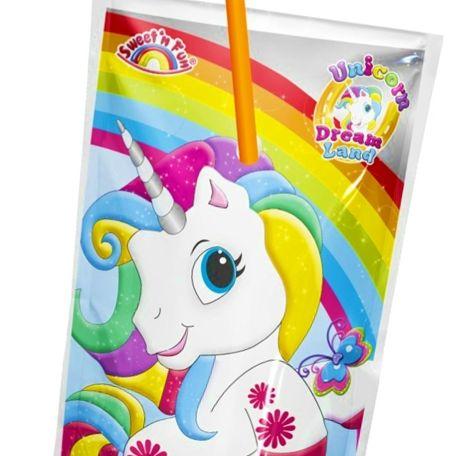 Unicorn Strawberry drink c vitamin üdítőital 30db