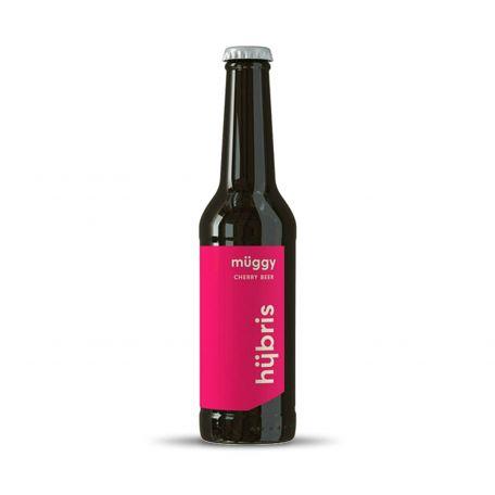 Hübris meggy sör 330ml
