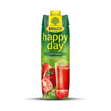 Happy Day paradicsom üdítőital 100% 1l