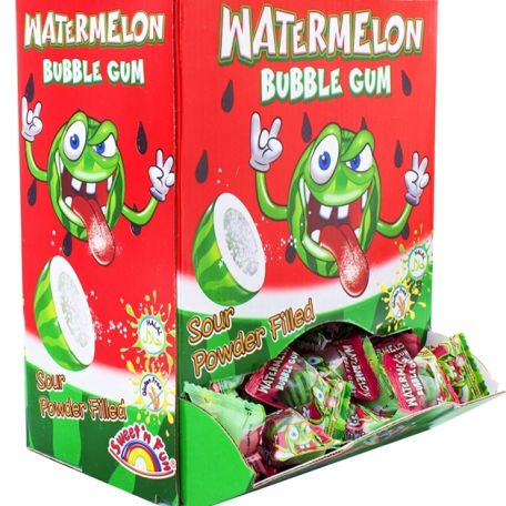 Watermelon bubble gum rágógumi 200db