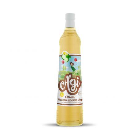 Ági citrom-menta-uborka szörp 0,7l