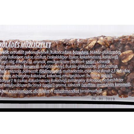 Müzli szelet csokoládés 120*20g