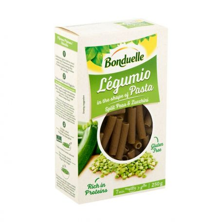 Rigatoni legumio gluténmentes zöldborsó-cukkini tészta 250g