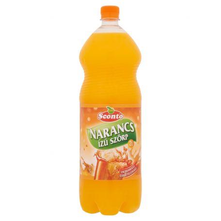 Sconto energiamentes narancs szörp 2l
