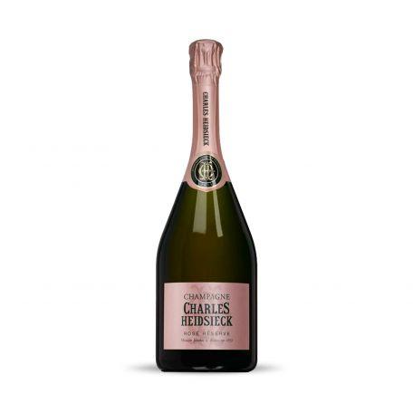 Charles Heidsieck Rosé Réserve champagne 0,75l