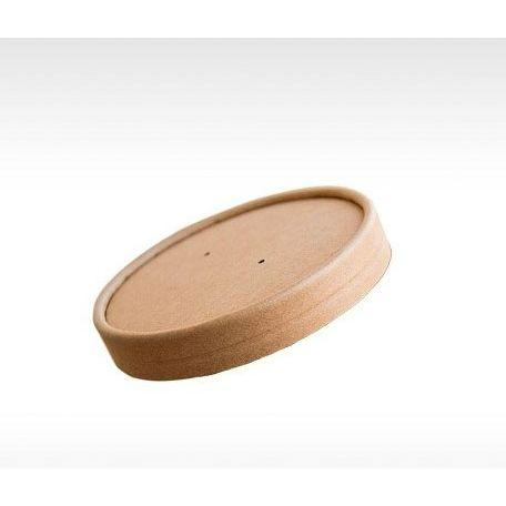 Papír leveses tégely tető 450ml 25db/csomag
