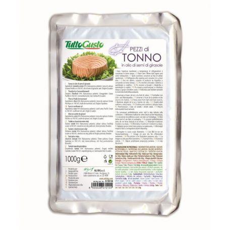 Tonhal napraforgóolajban 1kg