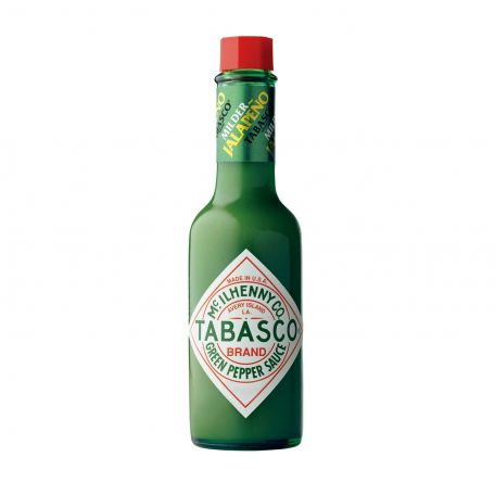 Zöld jalapeno tabasco szósz 60ml