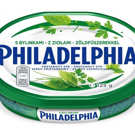 Philadelphia ZÖLDFŰSZERES sajtkrém 125g