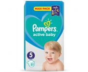 Pampers active baby junior pelenka 11-18kg 51db
