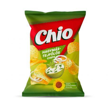 Chio hagymás-tejfölös burgonyachips 70g
