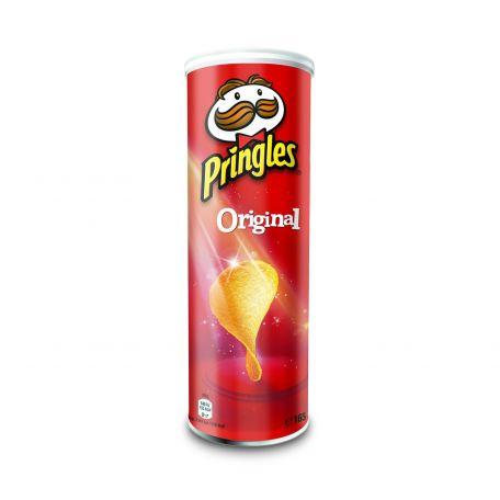 Chips sós original pringless 165gr