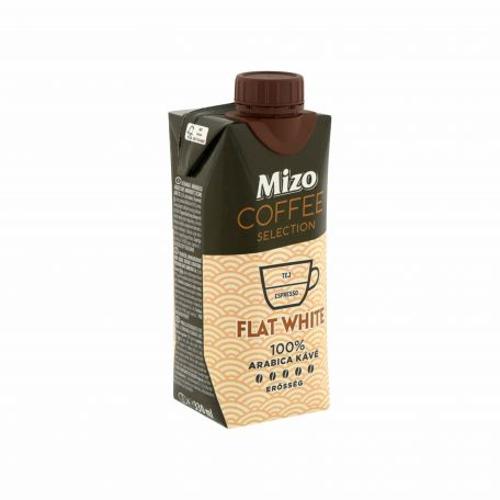 Mizo Coffee Selection UHT flat white kávéital 330ml