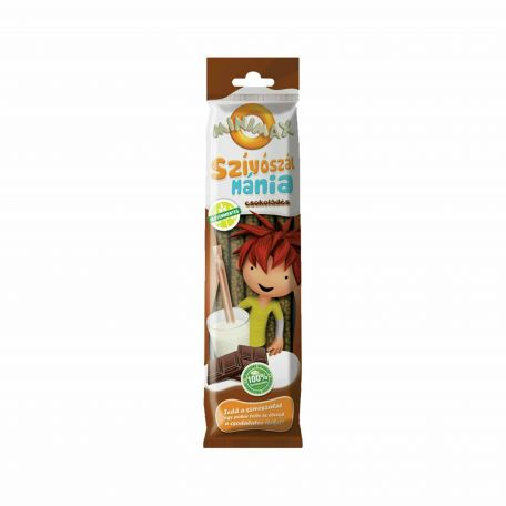 Minimax szívószálmánia csoki ízű 30g SW.