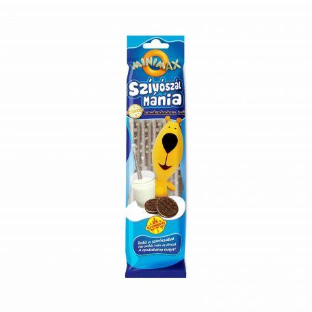 Minimax szívószálmánia csokis keksz ízű 30g SW.