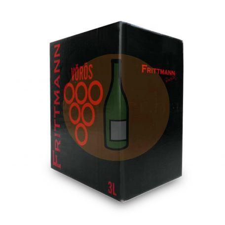 Frittmann - Vörös Cuvée Bag in Box 3l