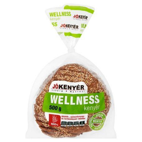 JÓkenyér wellness szeletelt csomagolt kenyér 500g
