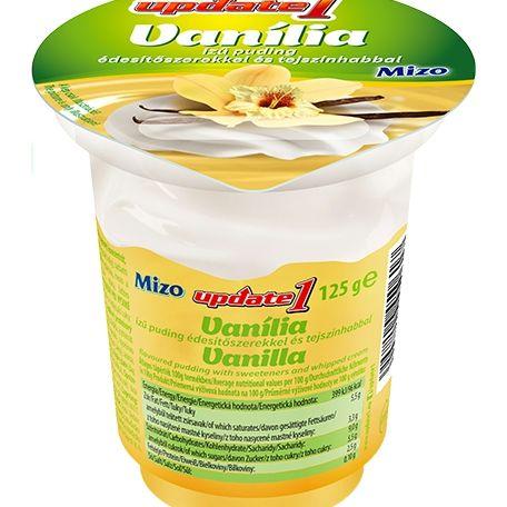 Mizo Update vaníliás puding tejszínhabbal 125g
