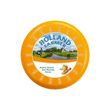 Farmer holland gouda sajt mustármaggal 4,5kg
