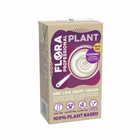 Flora Plant Cream 15% zsírtartalmú vegán növényi főzőkrém 1l
