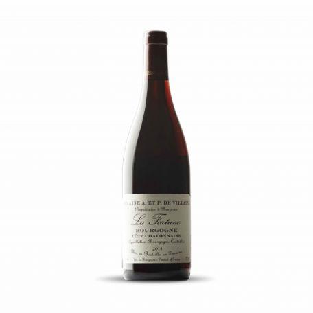 Domaine de Villaine - Bourgogne Cote Chalonnaise Rouge La Fortune 2016 0,75l