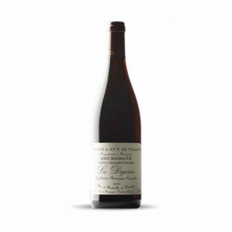 Domaine de Villaine - Bourgogne Cote Chalonnaise Rouge La Digoine 2018 0,75l