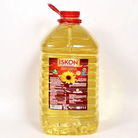 ISKON napraforgó olaj 5l