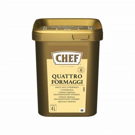 Chef quattro formaggi sajtos szósz 840g