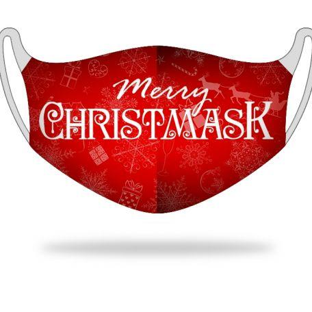 Kétrétegű textil szájmaszk christmask