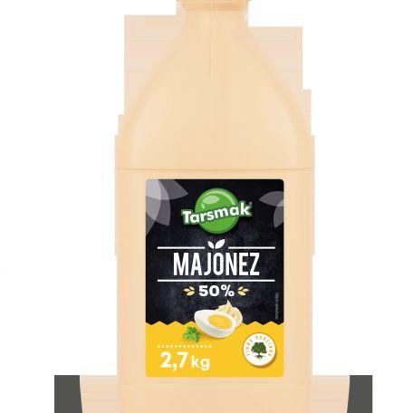 Tarsmak majonéz 50% 2,7kg