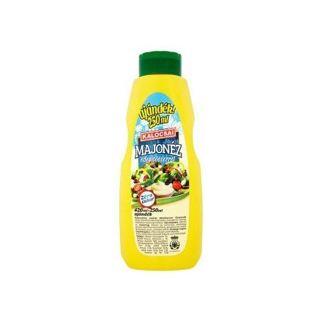 Kalocsai cukormentes majonéz 670ml