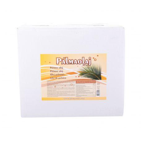 Frituspeciál pálmazsír papírkartonos 20kg