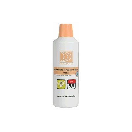 Brilliance barack illatú folyékony szappan 1l