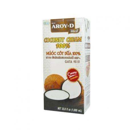 Aroy-D UHT kókuszkrém 100% 1l