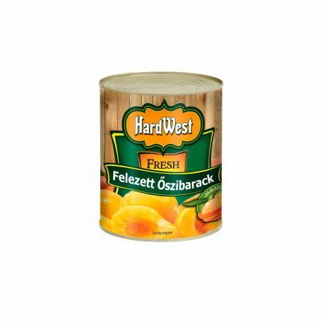 Hardwest őszibarack konzerv 820g/460g