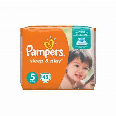 Pampers Sleep&Play junior pelenka 11-16kg 42db