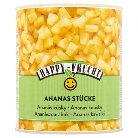 Happy Frucht darabolt (pizzacut) ananász 3050g/1840g